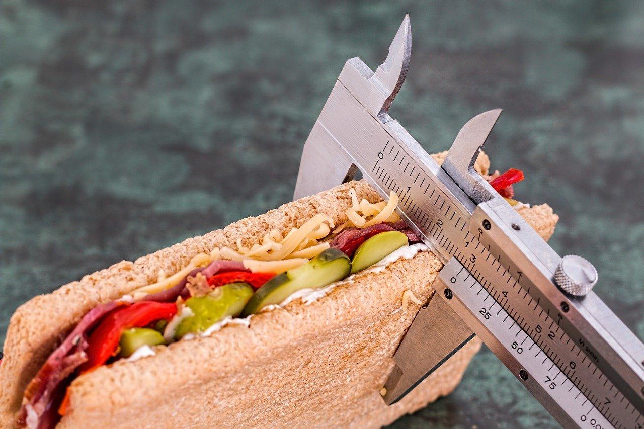 Gesunde Ernährung im Alltag Sandwich lecker gesund Gewicht